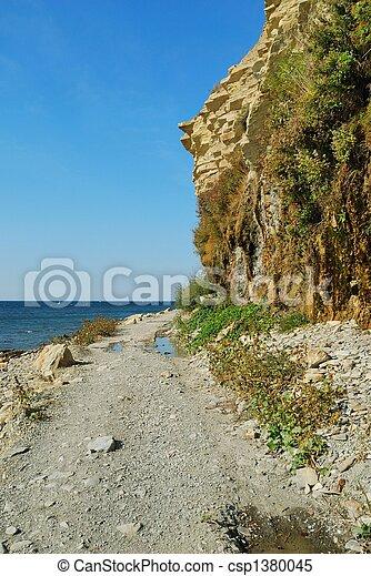 Coast of the black sea. - csp1380045