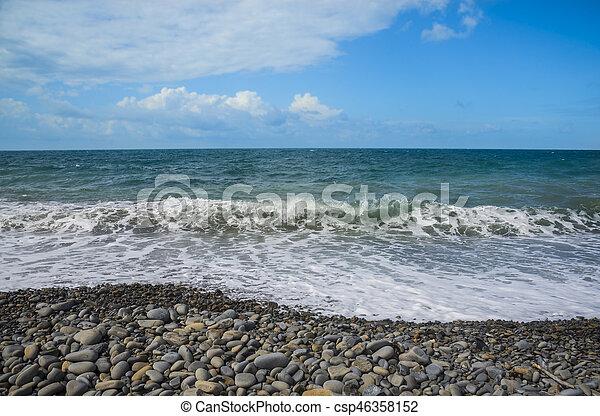 Coast of the Black Sea - csp46358152