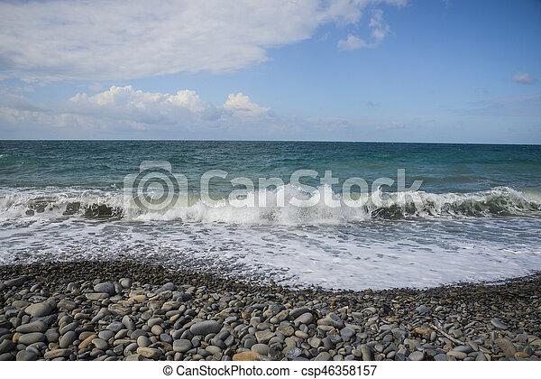 Coast of the Black Sea - csp46358157