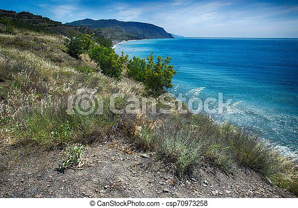 Coast of the Black Sea - csp70973258
