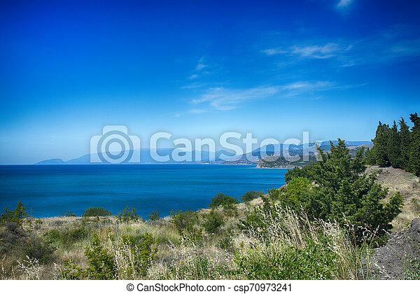 Coast of the Black Sea - csp70973241