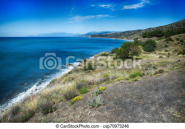 Coast of the Black Sea - csp70973246
