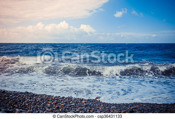 Coast of the Black Sea - csp36431133