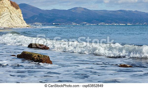 coast of the sea - csp63852849