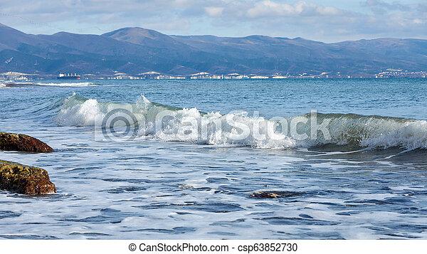 coast of the sea - csp63852730