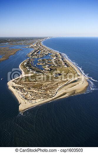 Coastal aerial. - csp1603503