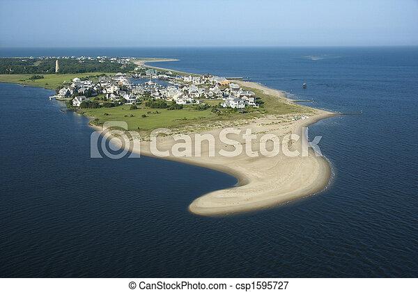 Coastal community. - csp1595727