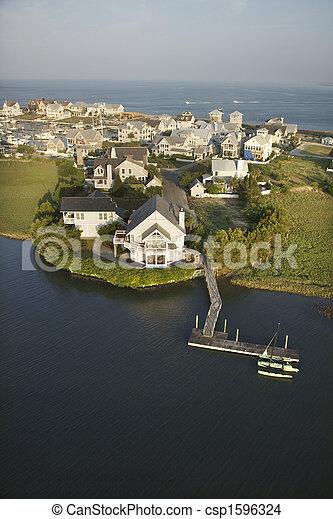Coastal community. - csp1596324