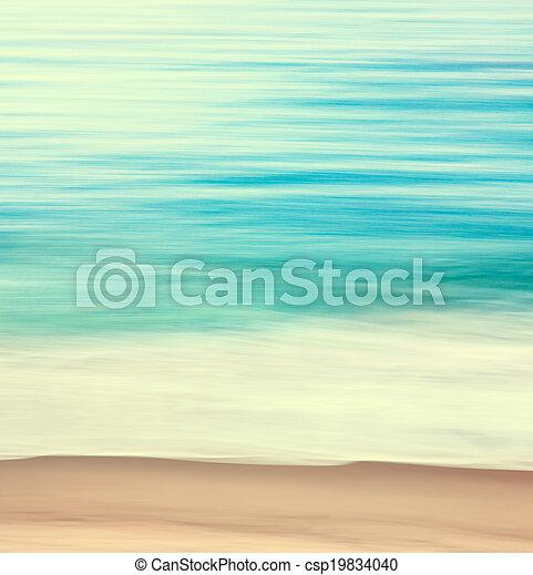 Coastal Edge Abstract - csp19834040