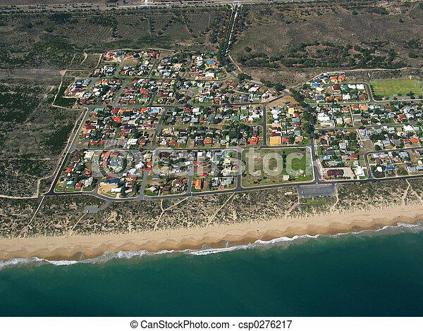 Coastal Town - csp0276217