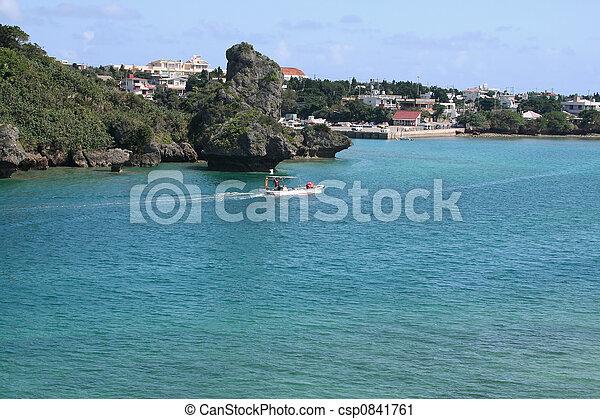 Coastal Village - csp0841761