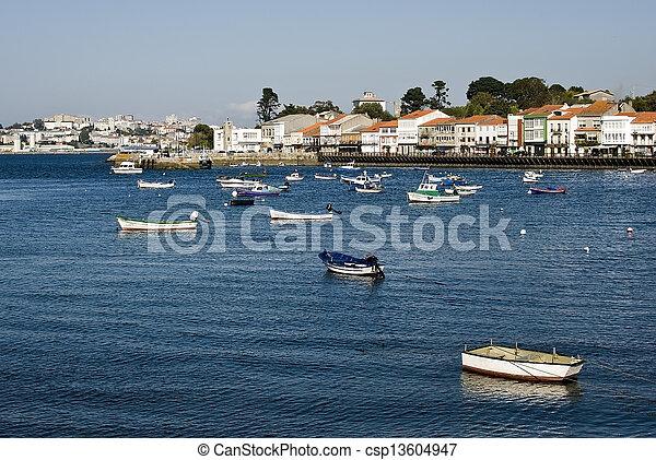 coastal village - csp13604947