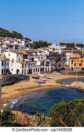 Coastal village - csp14438028