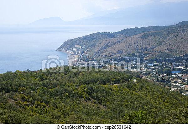 Coastal village - csp26531642