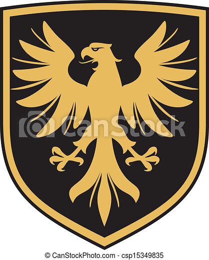 (coat, adler, arme, emblem) - csp15349835