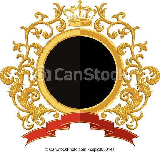 Coat of arms. Flat design - csp28050141