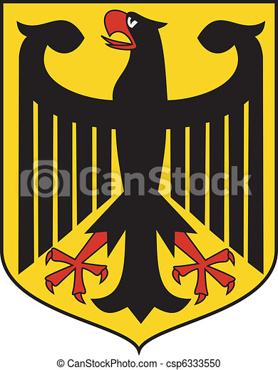 coat of arms Germany - csp6333550