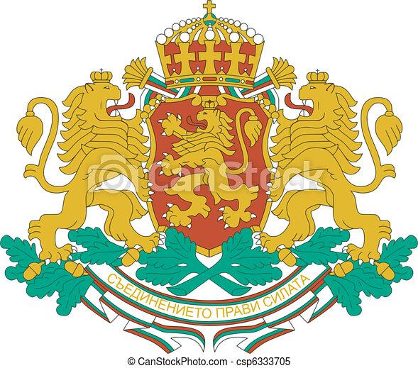 Coat of arms of Bulgaria - csp6333705