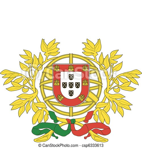 coat of arms of Portugal - csp6333613
