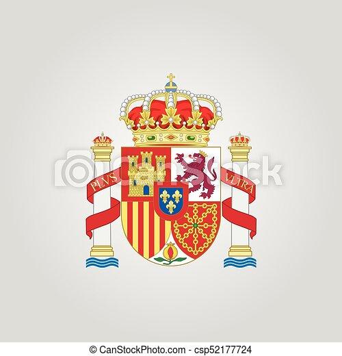 Coat of arms of Spain - csp52177724