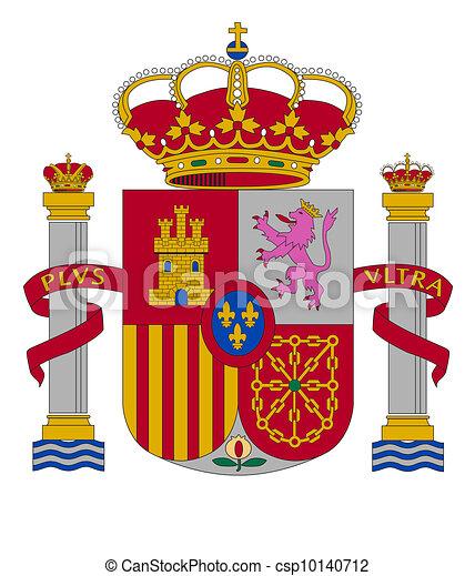 coat of arms of Spain - csp10140712