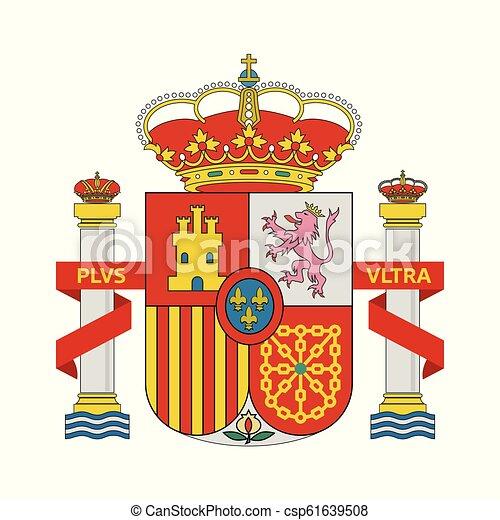 Coat of Arms of Spain - csp61639508
