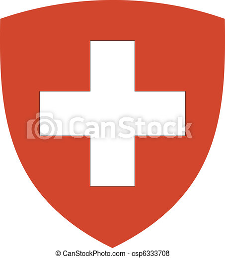 coat of arms of Switzerland - csp6333708