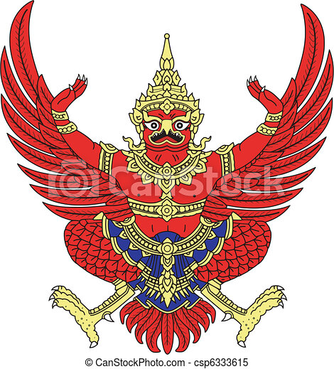coat of arms of Thailand - csp6333615