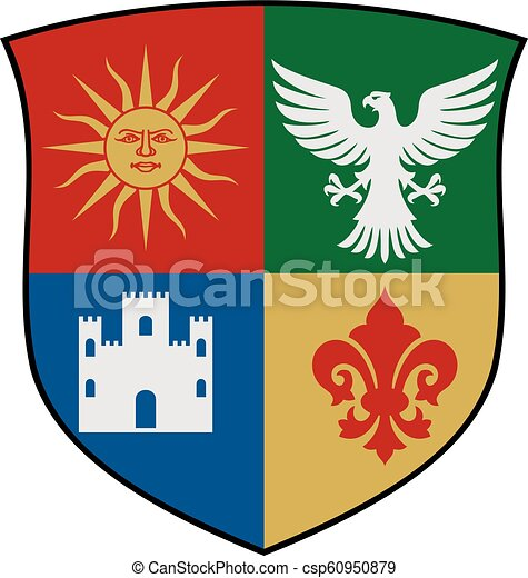 coat of arms vector illustration - csp60950879