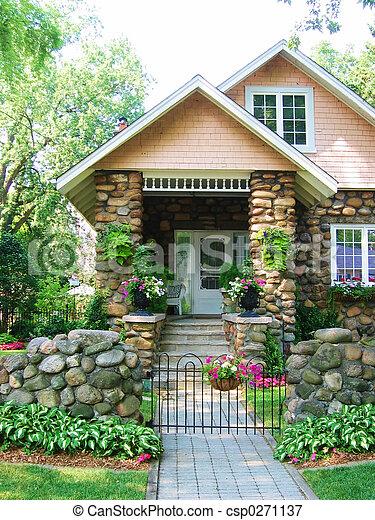 cobblestone, épület - csp0271137