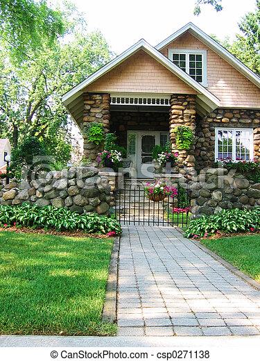 cobblestone, épület - csp0271138