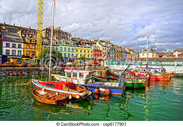 Cobh in Ireland - csp6177901