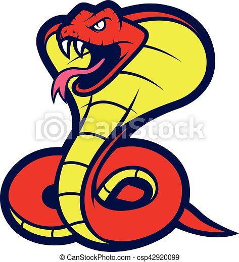 cobra snake mascot clipart picture of a cobra snake cartoon eps rh canstockphoto com free cobra clipart cobra clip art graphics