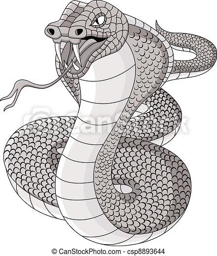 Cobra tattoo - csp8893644
