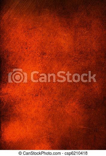 Trasfondo abstracto del grunge de cobre - csp6210418
