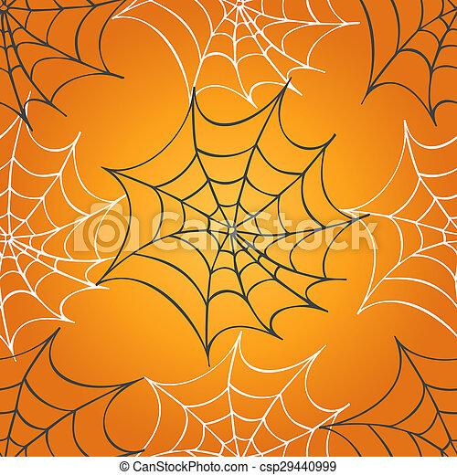 Cobweb seamless pattern - csp29440999
