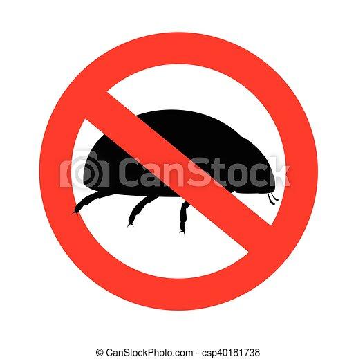 Coccinelle Symbole coccinelle, interdit, symbole. coccinelle, interdit, vecteur
