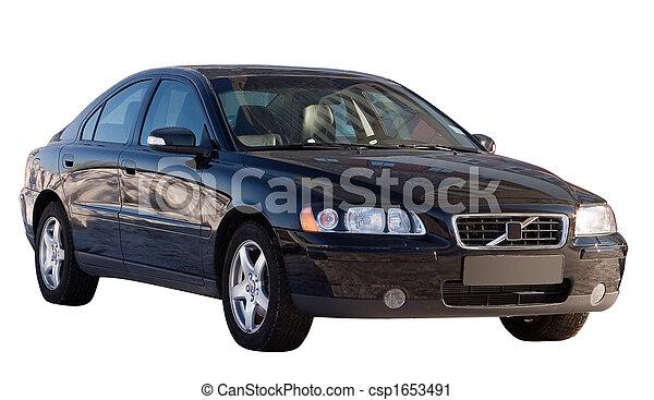 coche, aislado - csp1653491
