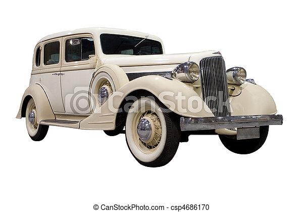 Un auto clásico - csp4686170