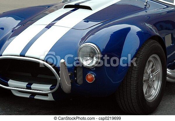 Auto deportivo - csp0219699