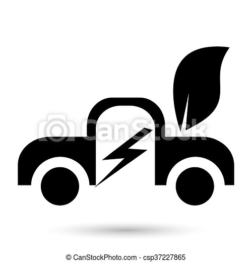 Coche eléctrico - csp37227865