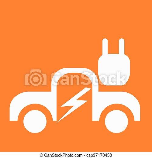 Coche eléctrico - csp37170458