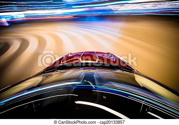 Auto de carreras - csp20133857