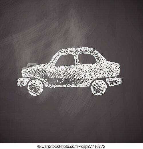Icono del coche - csp27716772
