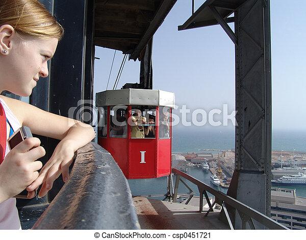 La chica del cable - csp0451721