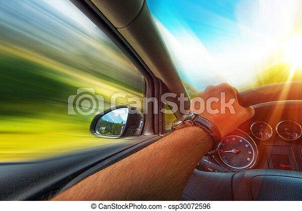 Auto rápido - csp30072596