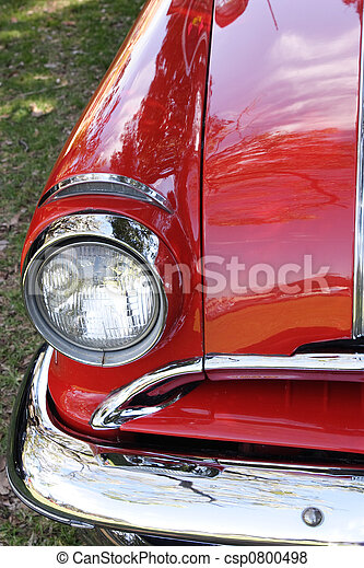 Auto rojo - csp0800498