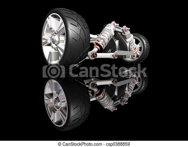 Suspensión de auto - csp0388859