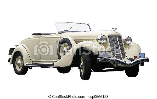 coche, viejo - csp0566123