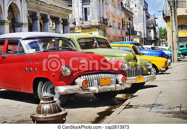 Coches coloridos - csp2613973